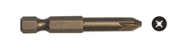"#2 x 2"" Pozi-Drive Power Screw Bit (10 Pack) 