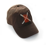 10th Mtn. Logo Cap - Brown