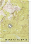 10th Mountain Huts, Upper Fryingpan topo map