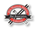 10th Mountain Huts Sticker