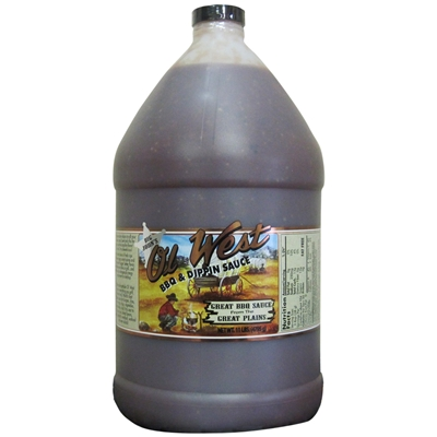 Big John's Ol' West BBQ & Dippin Sauce - Gallon Jug