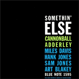 Cannonball Adderley - Somethin' Else Jacket Cover