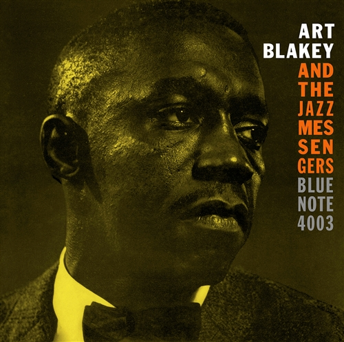 Art Blakey - Moanin' -  Jacket Cover