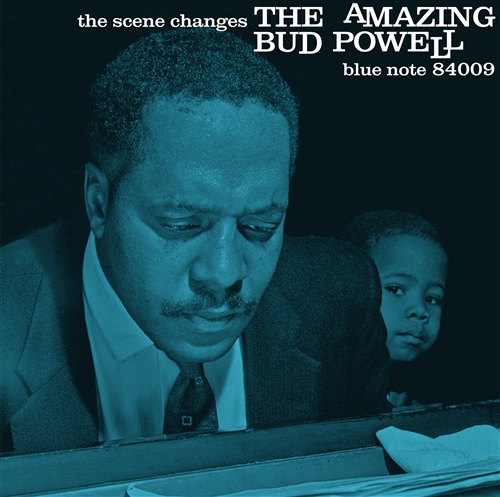 Bud Powell - The Scene Changes Jacket Cover