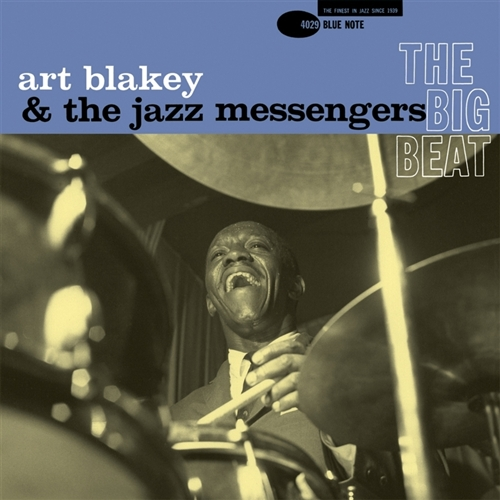 Art Blakey - The Big Beat Jacket Cover