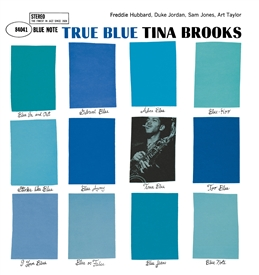 Tina Brooks - True Blue Vinyl Jacket Cover