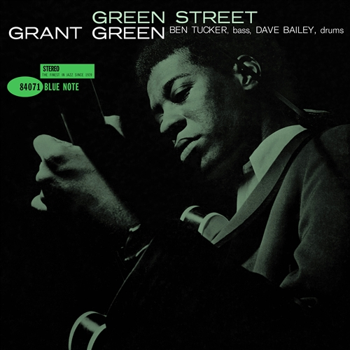 Grant Green - Green Street Jacket Cover
