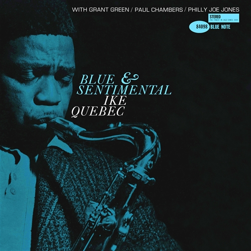 Ike Quebec - Blue And Sentimental Jacket Cover