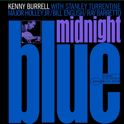 Kenny Burrell - Midnight Blue Jacket Cover