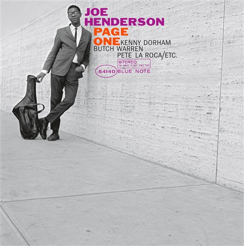 Joe Henderson - Page One Jacket Cover