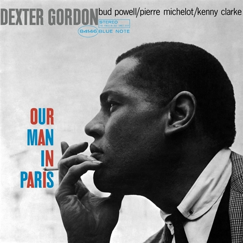 Dexter Gordon - Our Man In Paris Jacket Cover