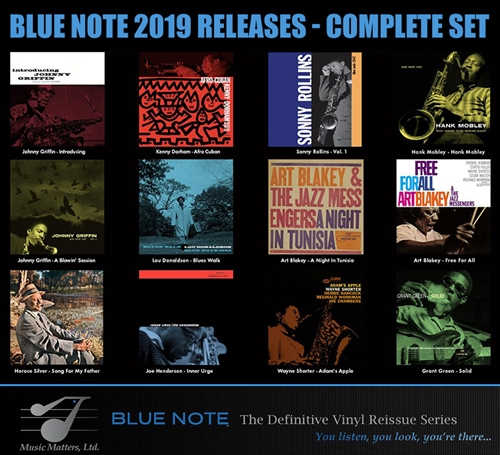Bluenote 2019 Releases - Complete Set (SRX)