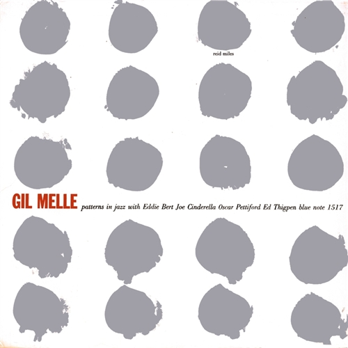 Gil Melle - Patterns in Jazz Jacket Cover
