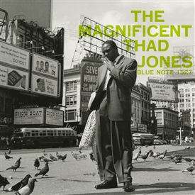 Thad Jones - The Magnificent Vinyl Jacket Cover