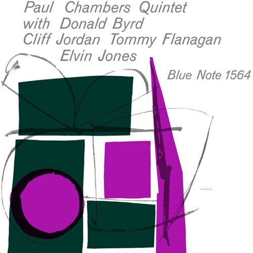 Paul Chambers - Quintet Vinyl Jacket Cover