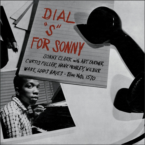 "Sonny Clark - Dial ""S"" For Sonny Vinyl Jacket Cover"