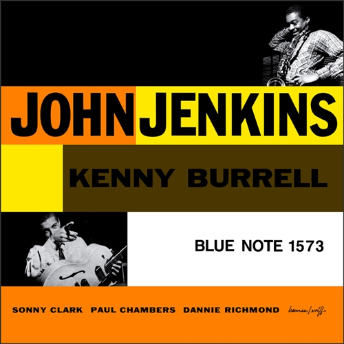 John Jenkins - With Kenny Burrell Jacket Cover