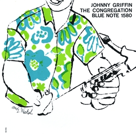 Johnny Griffin - Congregation Jacket Cover