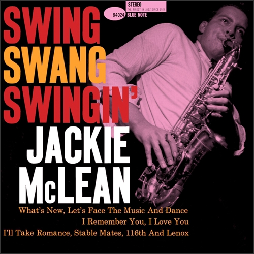 J. McLean - Swing Swang Swingin Jacket Cover