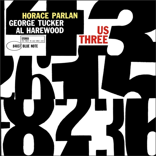 Horace Parlan - Us Three Jacket Cover