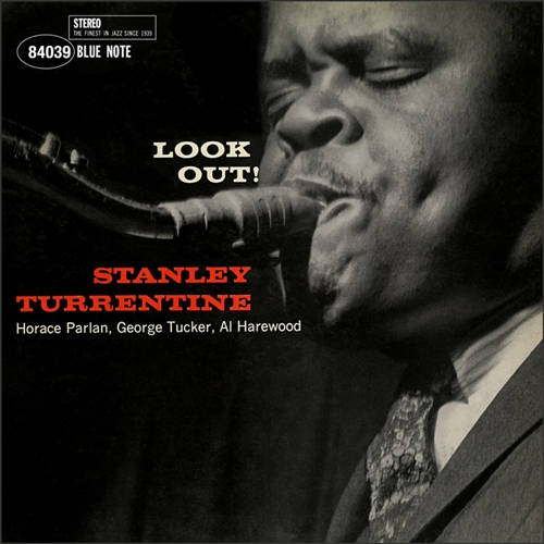 Stanley Turrentine - Look Out! Vinyl Jacket Cover