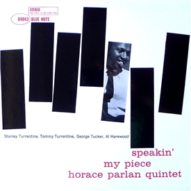 Horace Parlan - Speakin' My Piece Jacket Cover