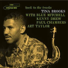 Tina Brooks - Back To The Tracks Vinyl Jacket Cover