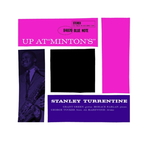 Stanley Turrentine - Up At Minton's, Vol. 2 Vinyl Jacket Cover