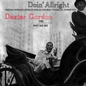 Dexter Gordon - Doin' Allright Jacket Cover