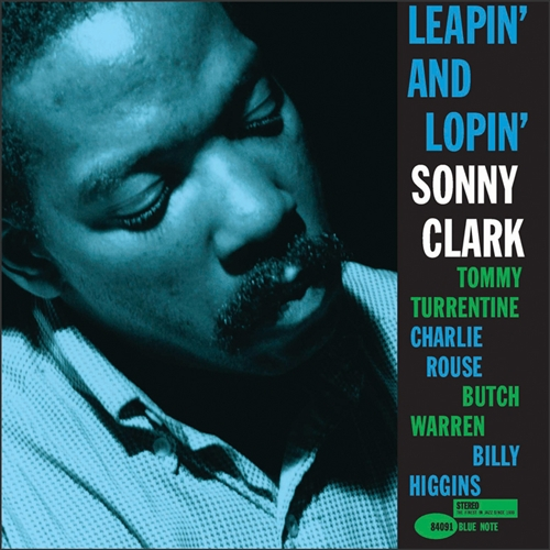 Sonny Clark - Leapin' and Lopin' Vinyl Jacket Cover