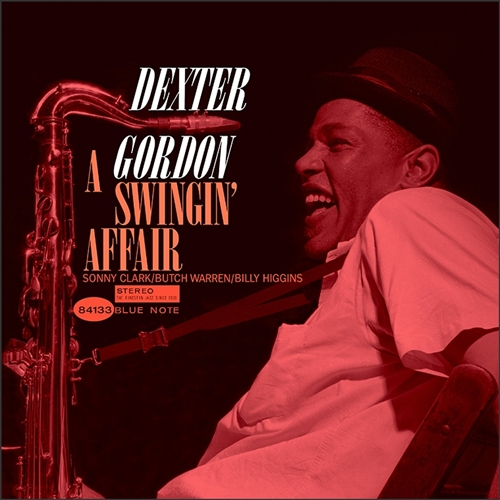 Dexter Gordon - A Swingin' Affair Jacket Cover