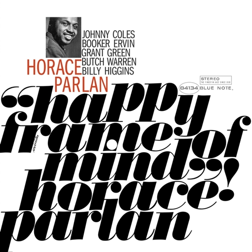 Horace Parlan - Happy Frame Of Mind Jacket Cover