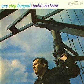 Jackie McLean - One Step Beyond Jacket Cover