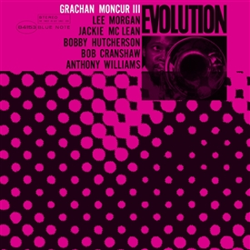 Grachan Moncur III - Evolution Jacket Cover
