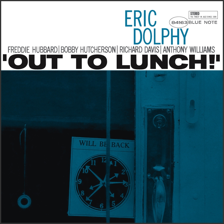 Eric Dolphy Out To Lunch Blue Note Vinyl Record Reissue