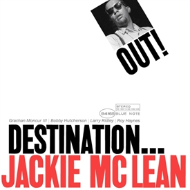 Jackie McLean - Destination...Out! Jacket Cover