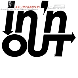 Joe Henderson - In 'N Out Jacket Cover