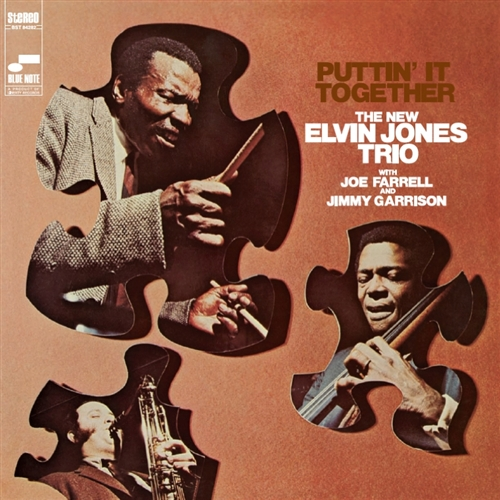 Elvin Jones - Puttin' It Together Jacket Cover