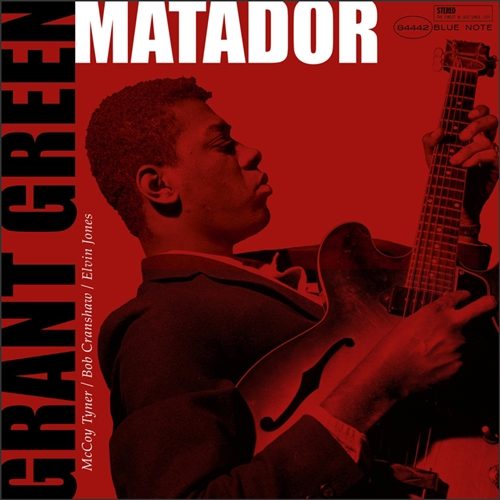 Grant Green - Matador Jacket Cover
