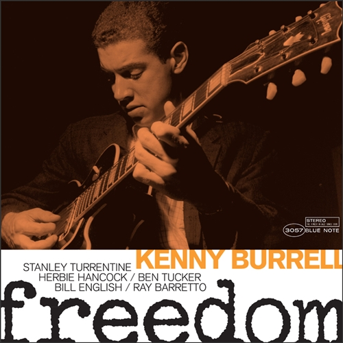 Kenny Burrell - Freedom Jacket Cover