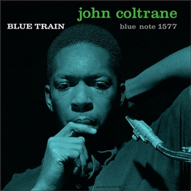 John Coltrane - Blue Train Jacket Cover