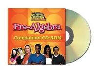Standard Deviants School Pre-Algebra Companion CD