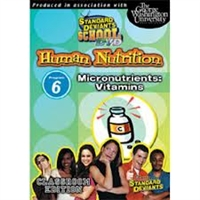 Standard Deviants School Nutrition Module 6: Vitamins DVD