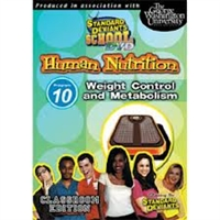 Standard Deviants School Nutrition Module 10: Weight Control DVD