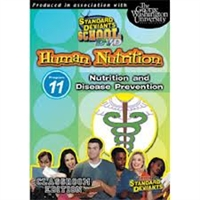 Standard Deviants School Nutrition Module 11: Disease Prevention DVD