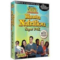 Standard Deviants School Nutrition Super Pack DVD