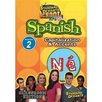 Standard Deviants School Spanish Module 2: Capitalization And Accents