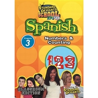 Standard Deviants School Spanish Module 3: Numbers And Counting