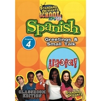 Standard Deviants School Spanish Module 4: Greetings And Small Talk
