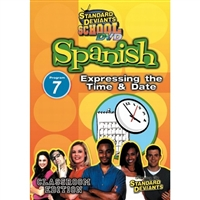 Standard Deviants School Spanish Module 7: Time And Date